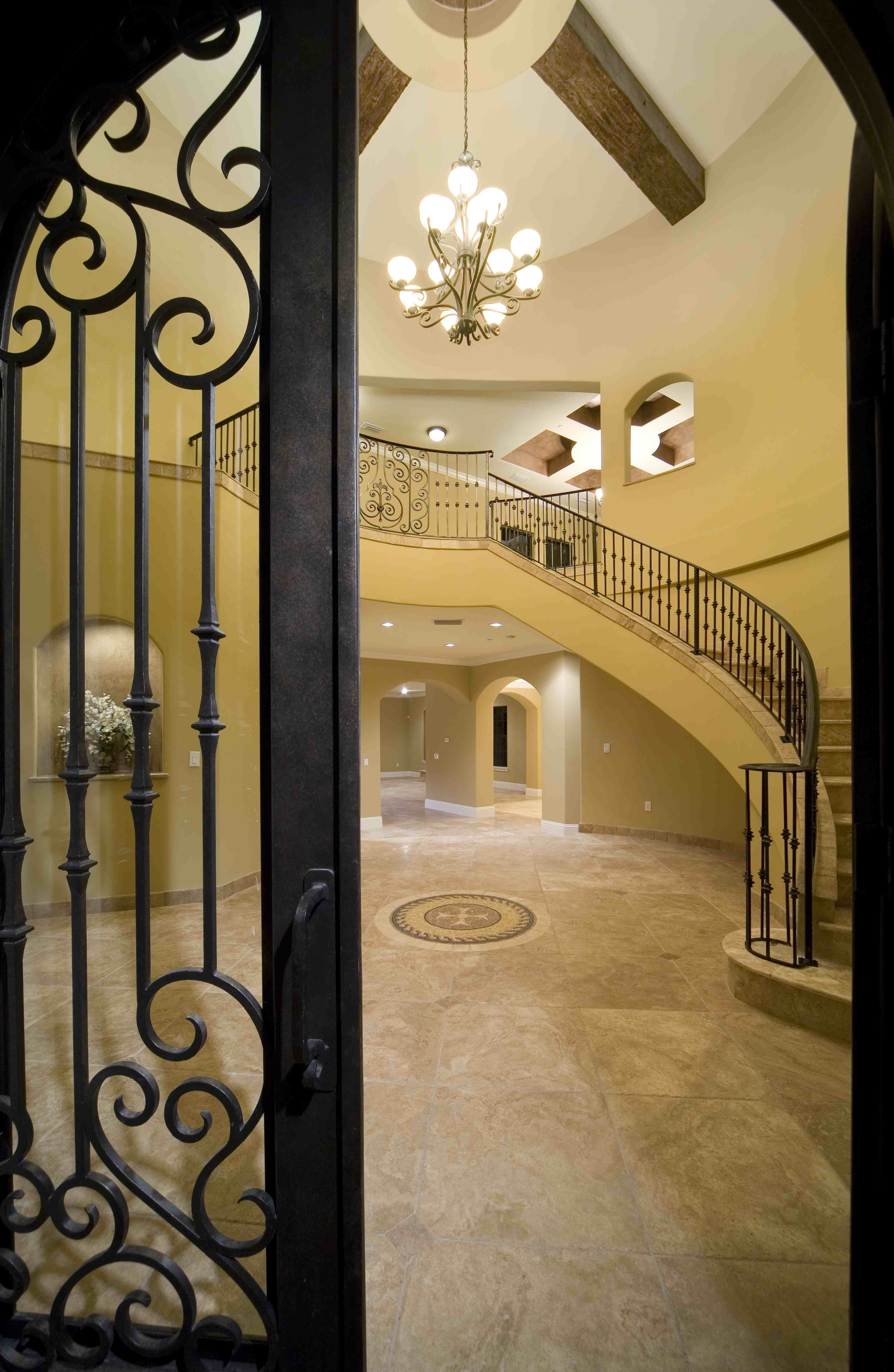 Wrought Iron Exterior Home Accents Design Tips For Wrought Iron Details