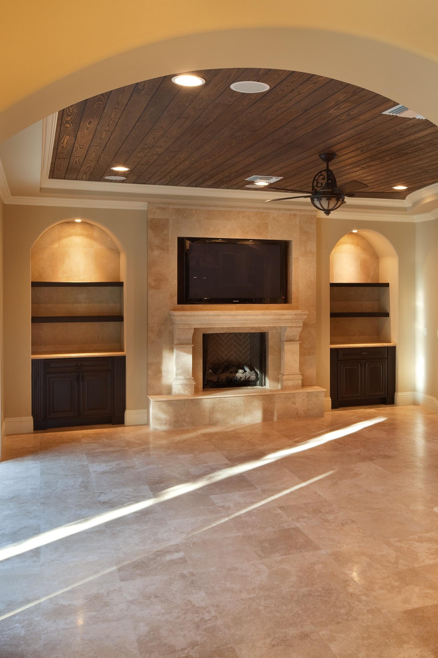 Formal Living Room Built Ins