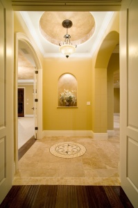 Niche in Vestibule, an example of Smart Use of Small Space