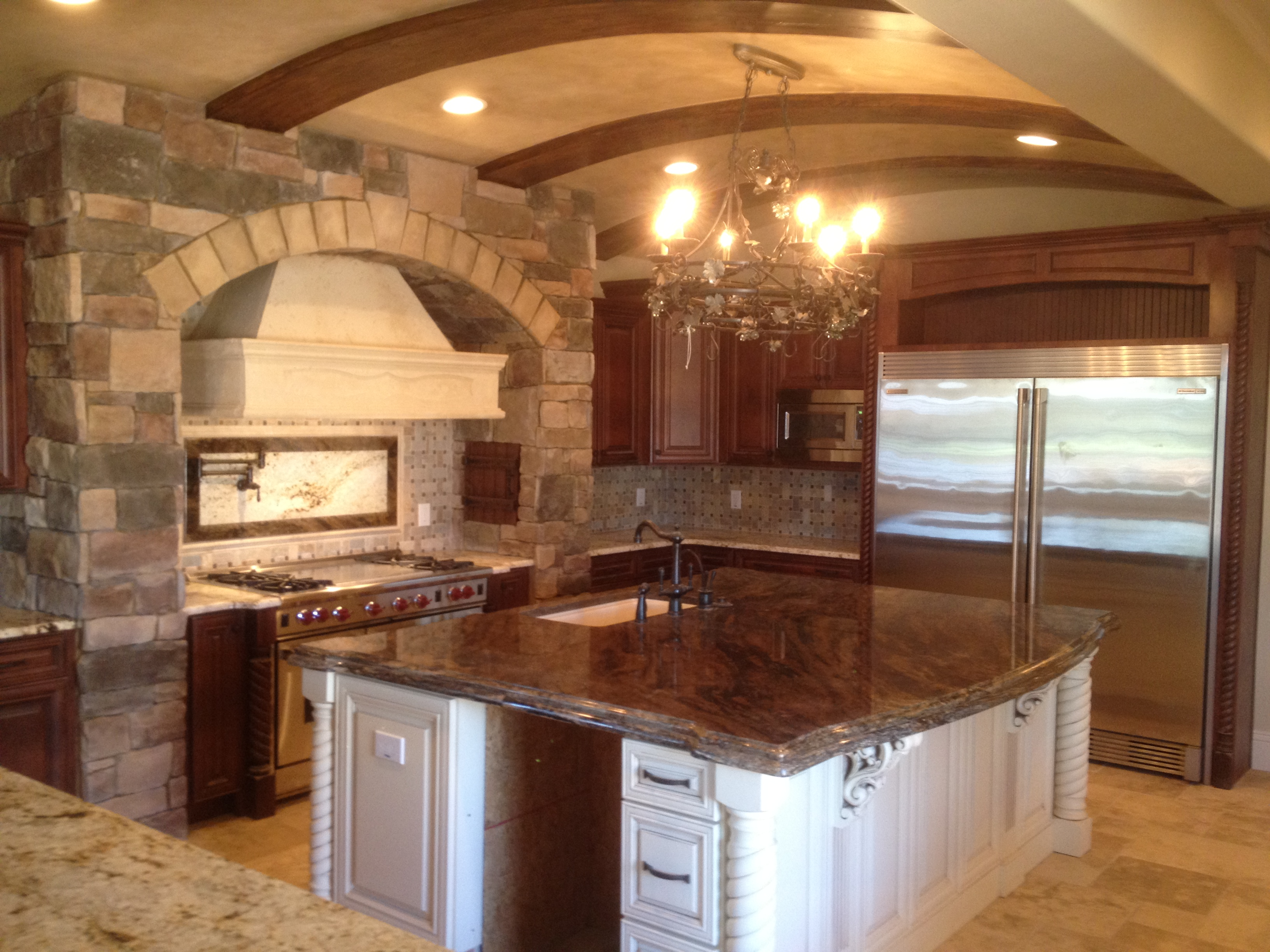 Luxury Tuscan Kitchen for Less | Trade Secrets by Jorge