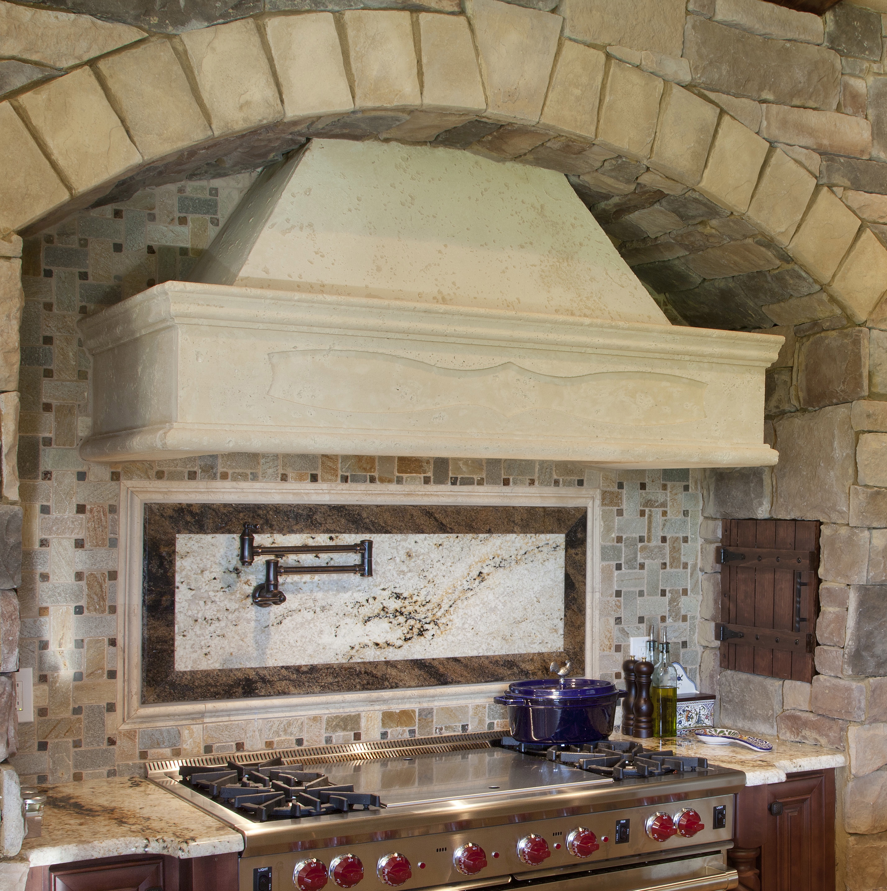 cast stone for affordable timeless touches