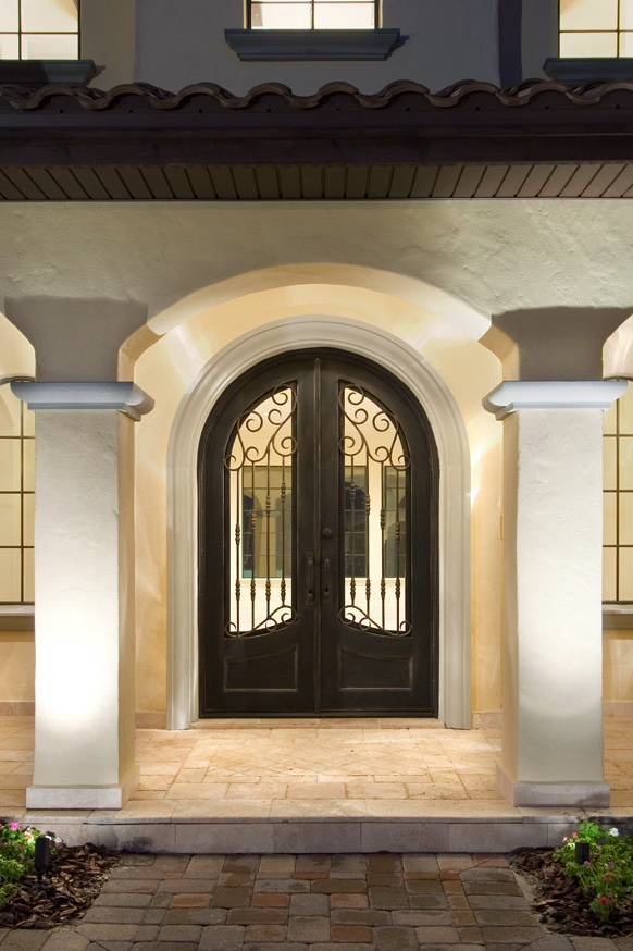 Making a grand entrance for Front door entrances
