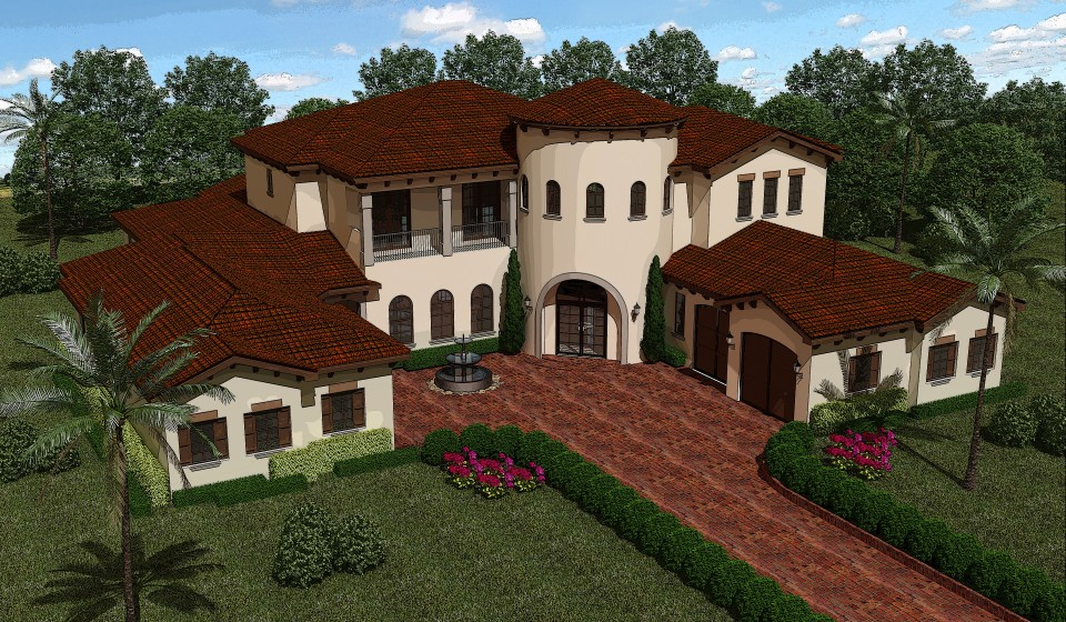 Custom home in the gated community of Magnolia Plantation  under construction that will feature the Nest Learning Thermostats