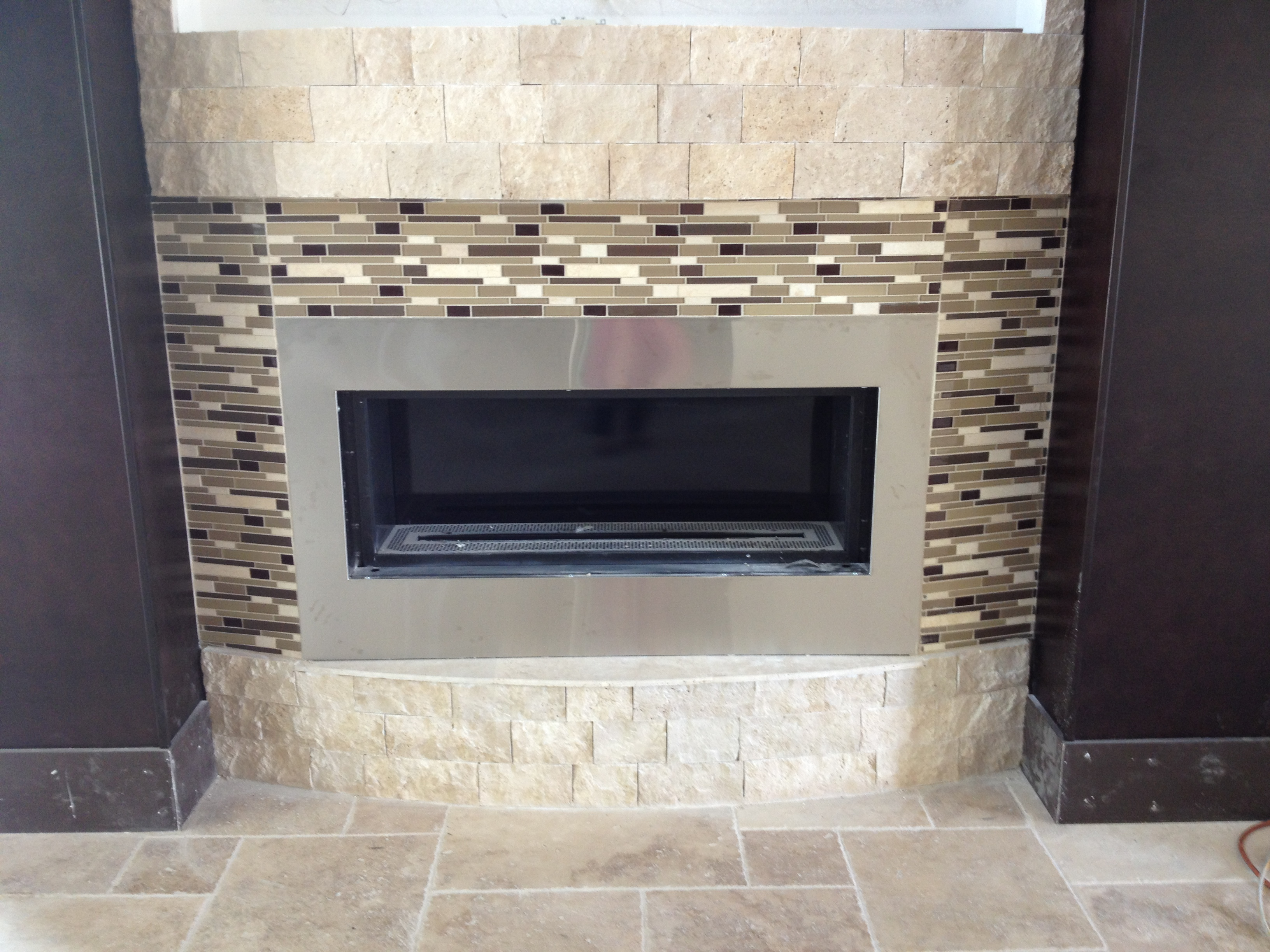 Fireplace Tile Design