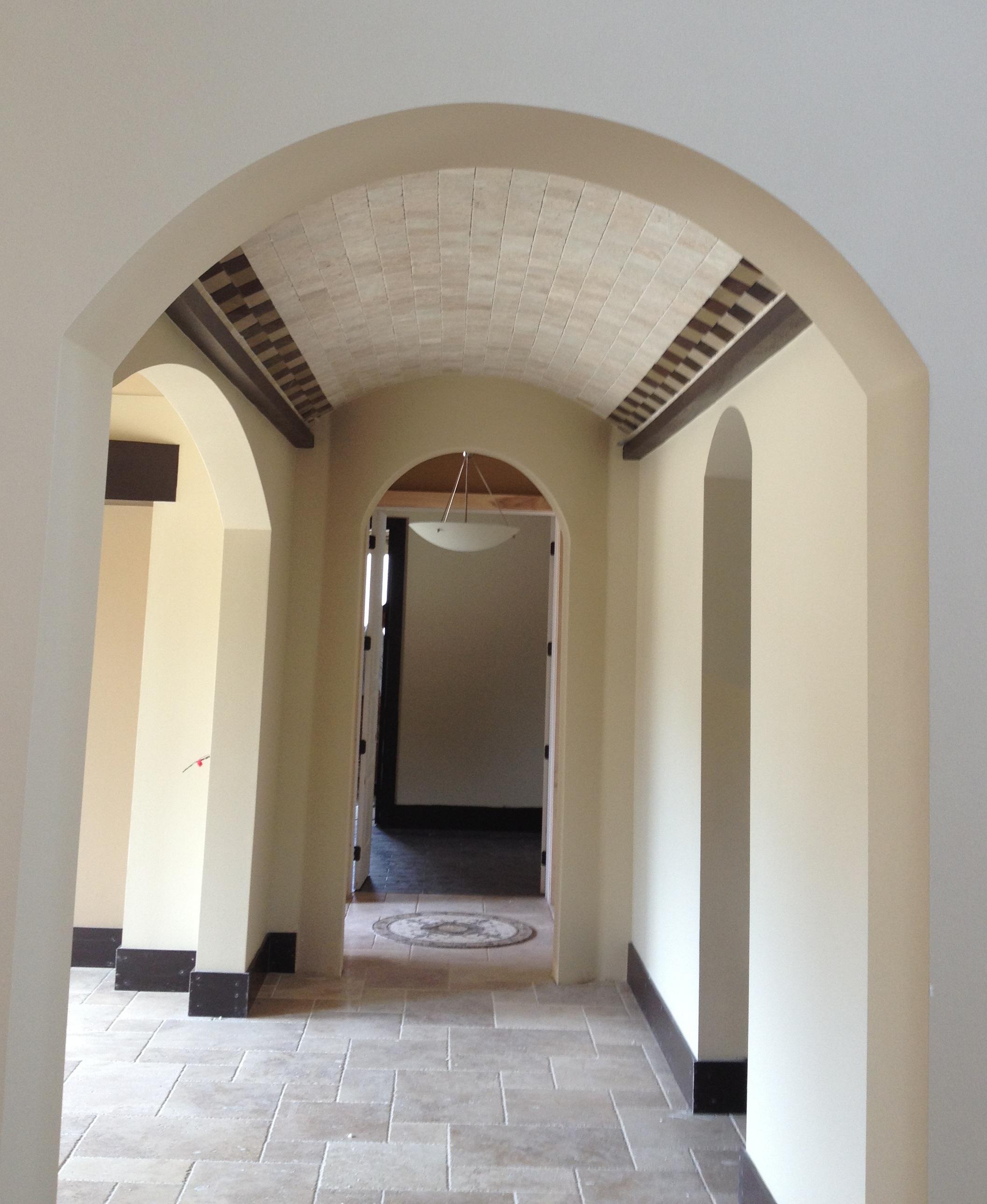 A Sneak Peek at a Mod Mediterranean Home Under Construction